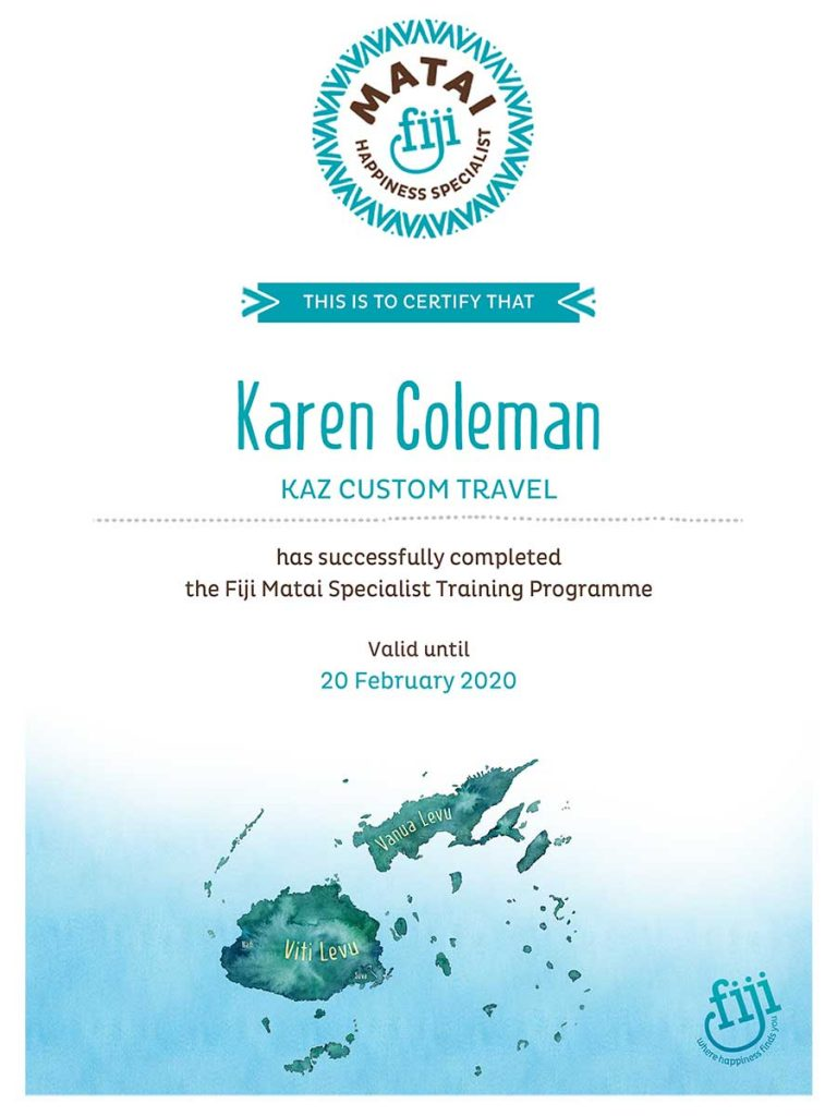 Fiji Matai Happiness Specialist Certification