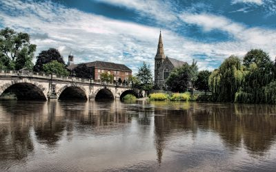 Experience English countryside on the River Severn