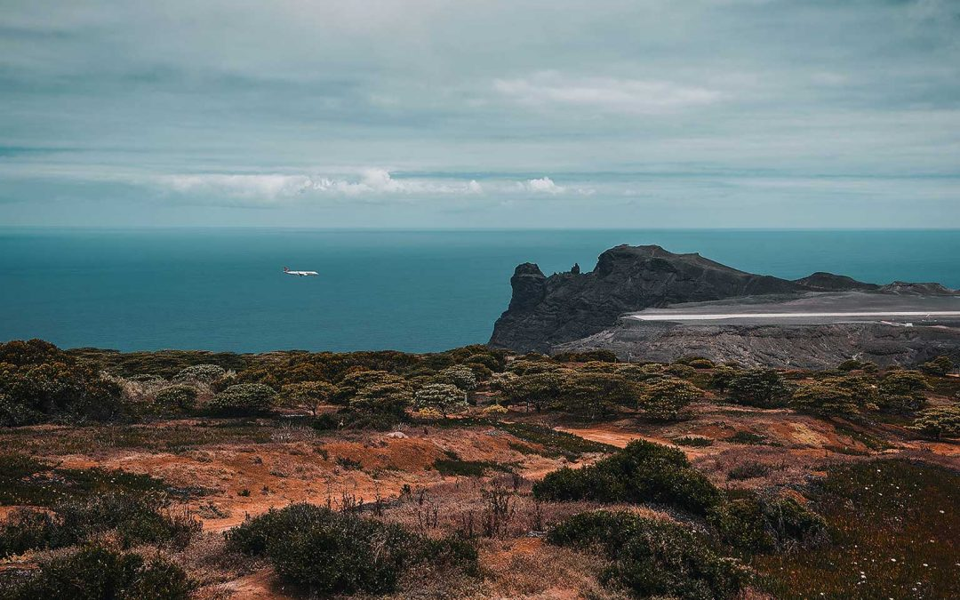 St Helena: a tad off-the-beaten-track