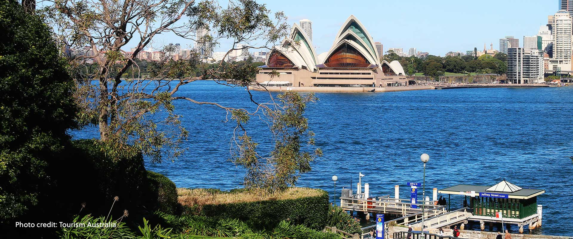 Sydney Opera House, Sydney, New South Wales, Australia.