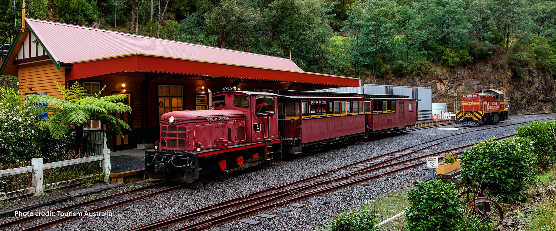 Walhalla Goldfields Railway, Walhalla, VIC.