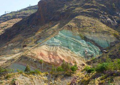 Colourful Gran Canaria rocks