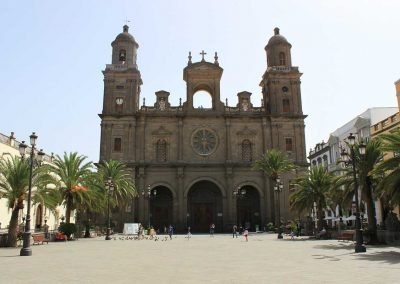 The Cathedral in Las Palmas
