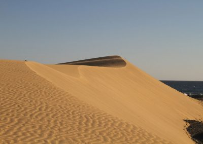 High dune at Mas Palomas
