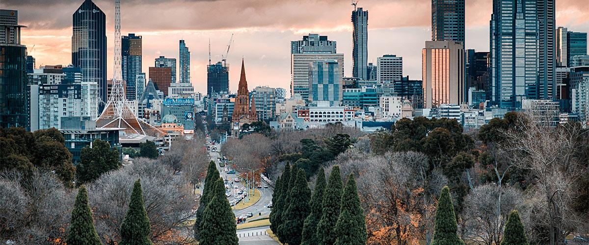 Melbourne Cityscape.