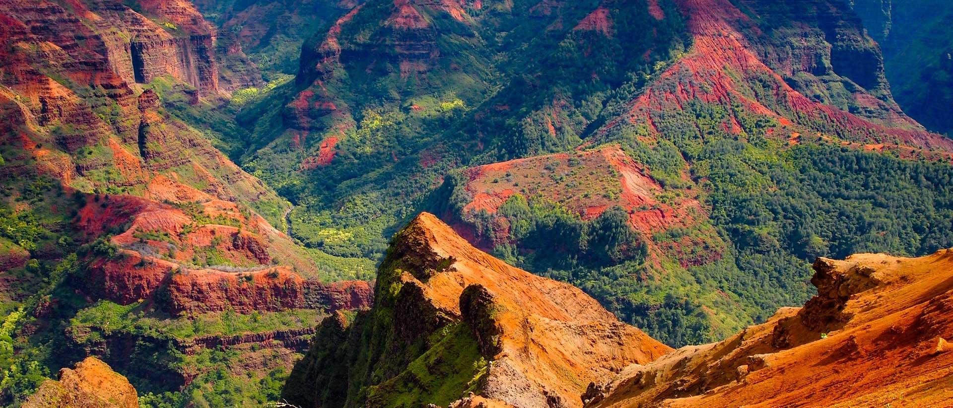 Waimea Canyon by Helicopter