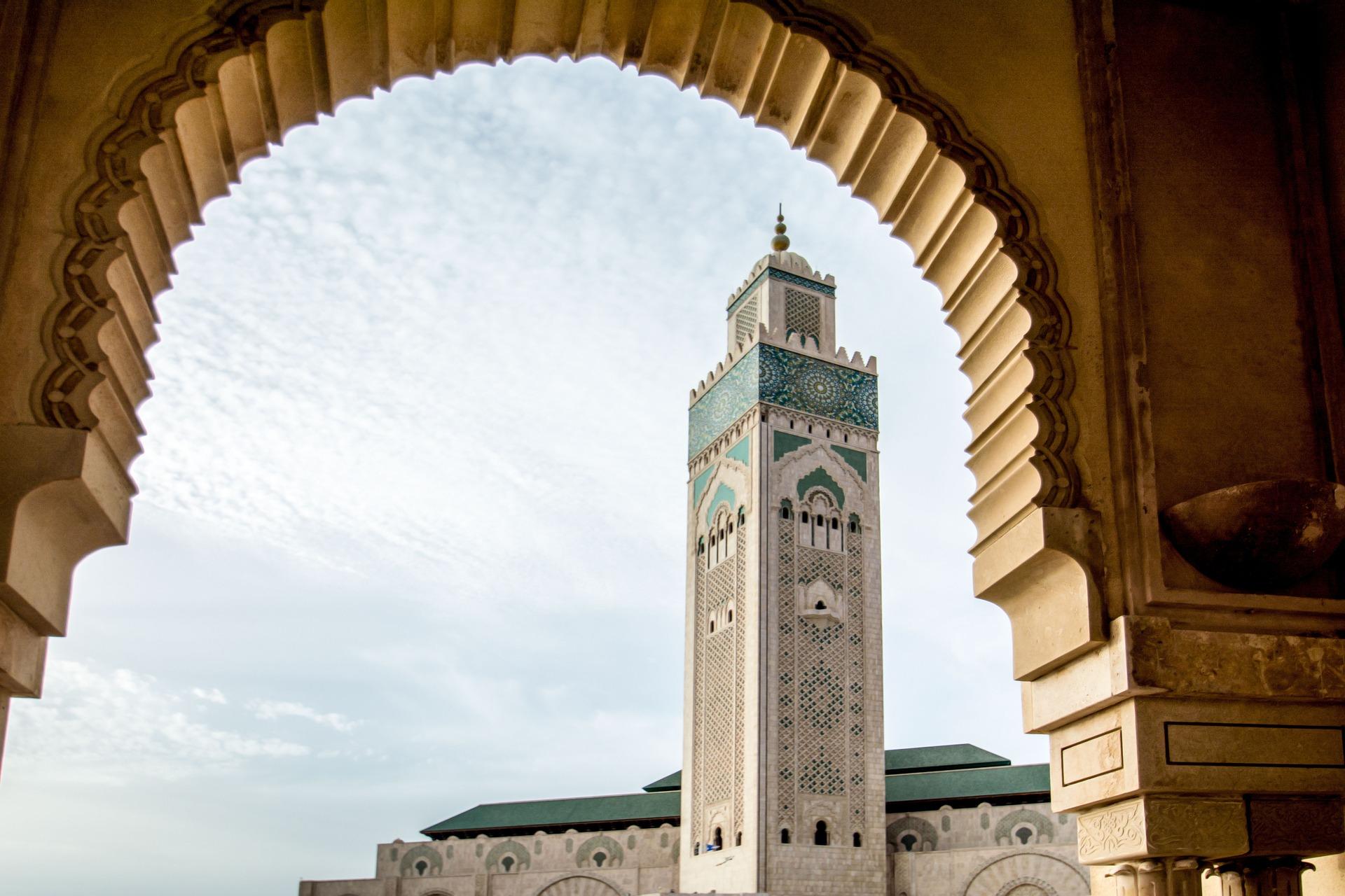 Mosque Hassan, Casablanca, Morocco