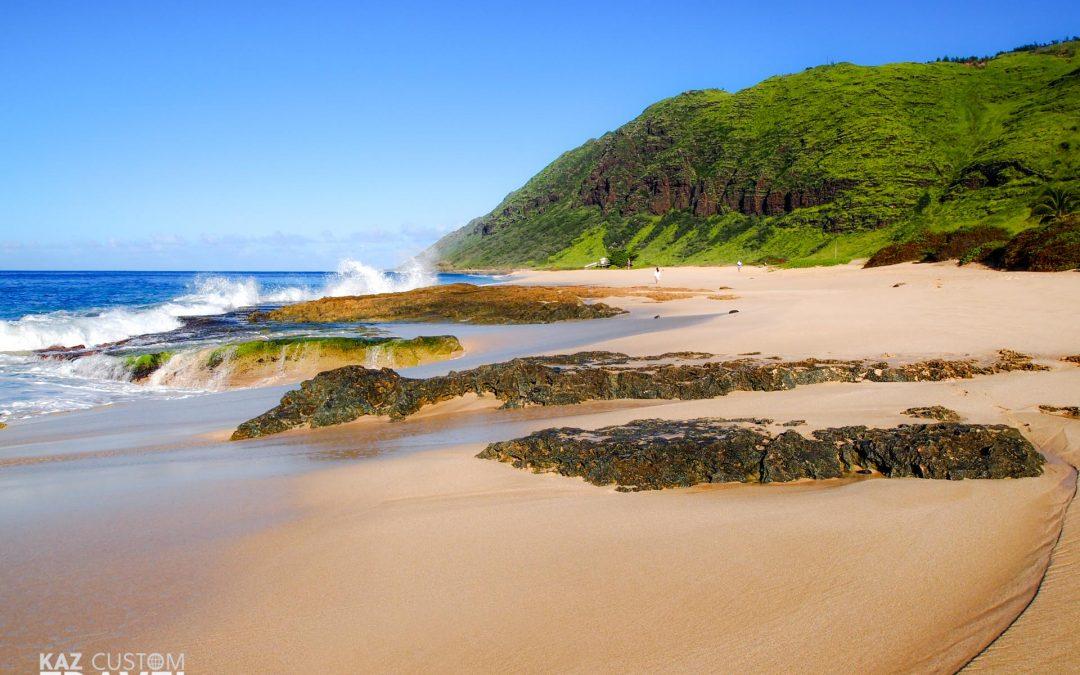 Yokohama Bay – my favourite beach in Oahu, Hawaii