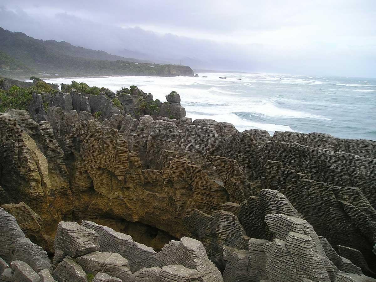 Pancake Rock Formations, Punakaiki, New Zealand