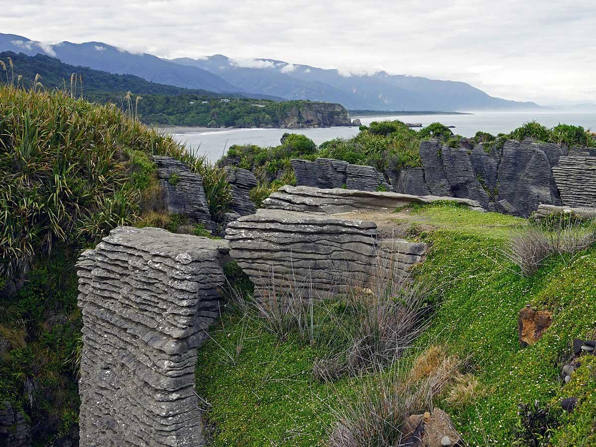 The Pancake Rocks, Punakaiki, New Zealand