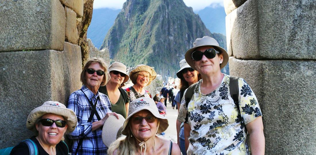 WOW group of women during the 2019 Enchanting Peru Trip