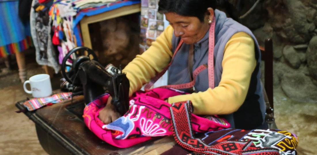 Sewing, Enchanting Peru WOW Tour 2019