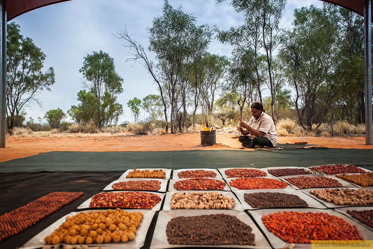 Discover Aboriginal Experiences in the Red Centre on a Karrke Aboriginal Cultural Tour, in Watarrka, NT, Australia