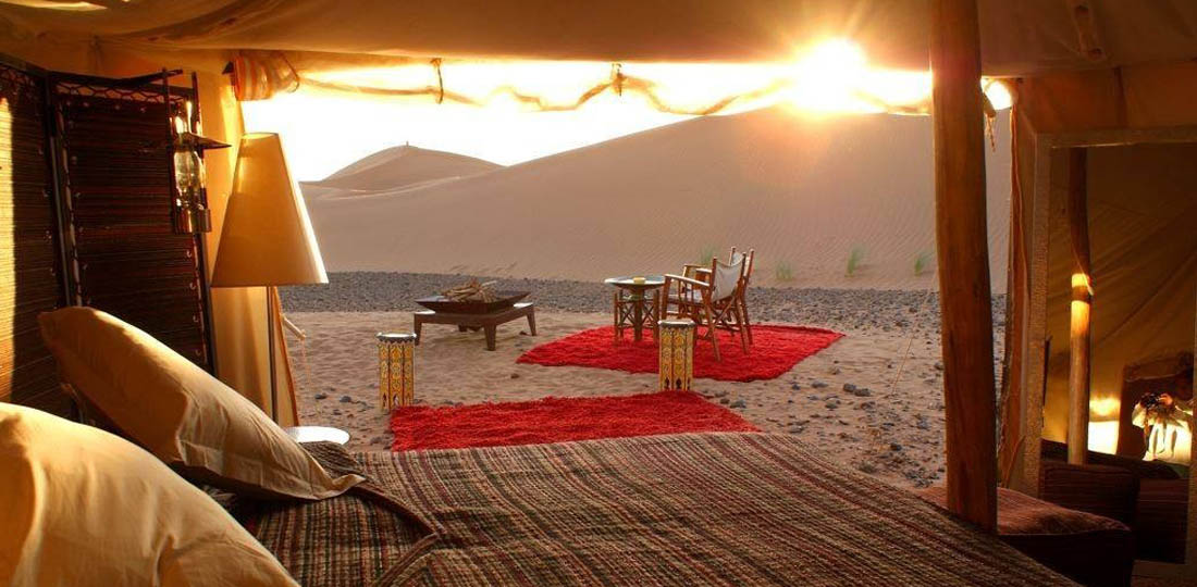 Merzouga luxury desert camp mystical Morocco Africa WOW 2020