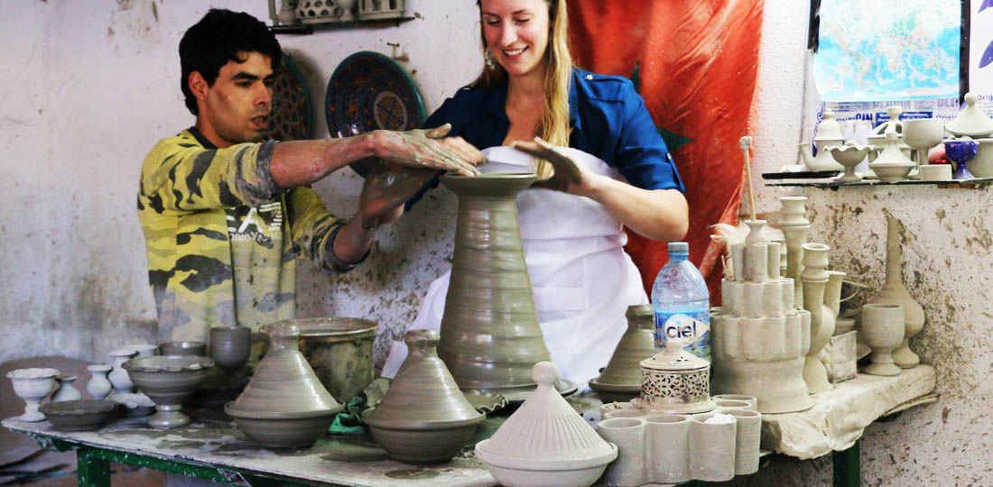 Pottery workshop, Mystical Morocco, Africa, WOW 2020