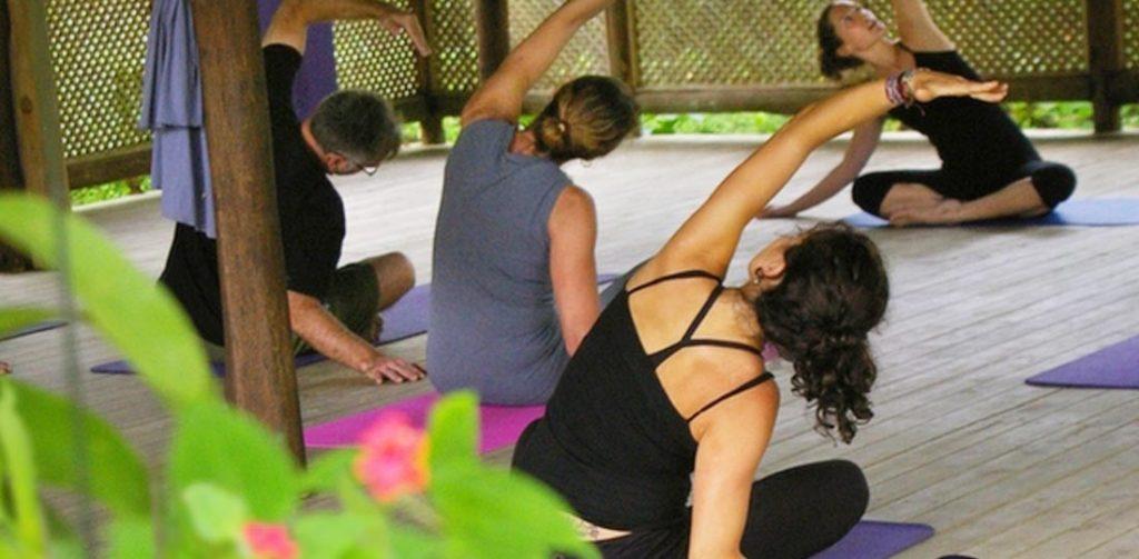 Yoga at Rancho Margot, Costa Rica, Central America