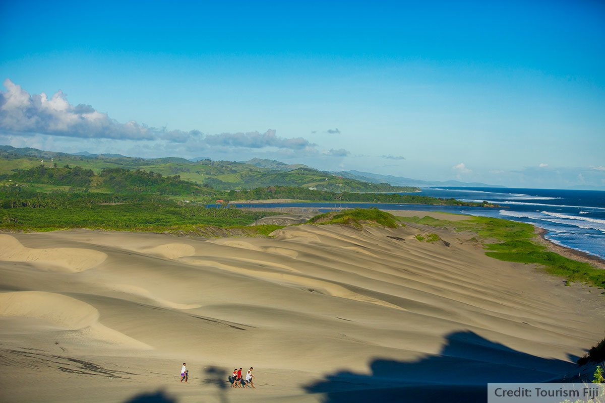 Sigatoka Sand Dunes, Coral Coast, Fiji