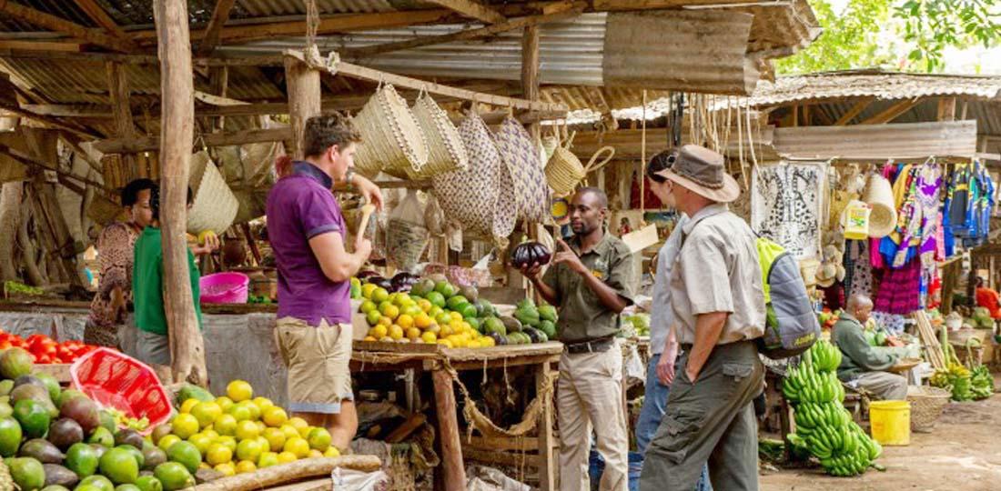 Mto wa Mbu Village, community visit, Tanzania, Africa