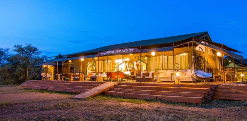 Serengeti Heritage Camp, Serengeti National Park, Tanzania, Africa