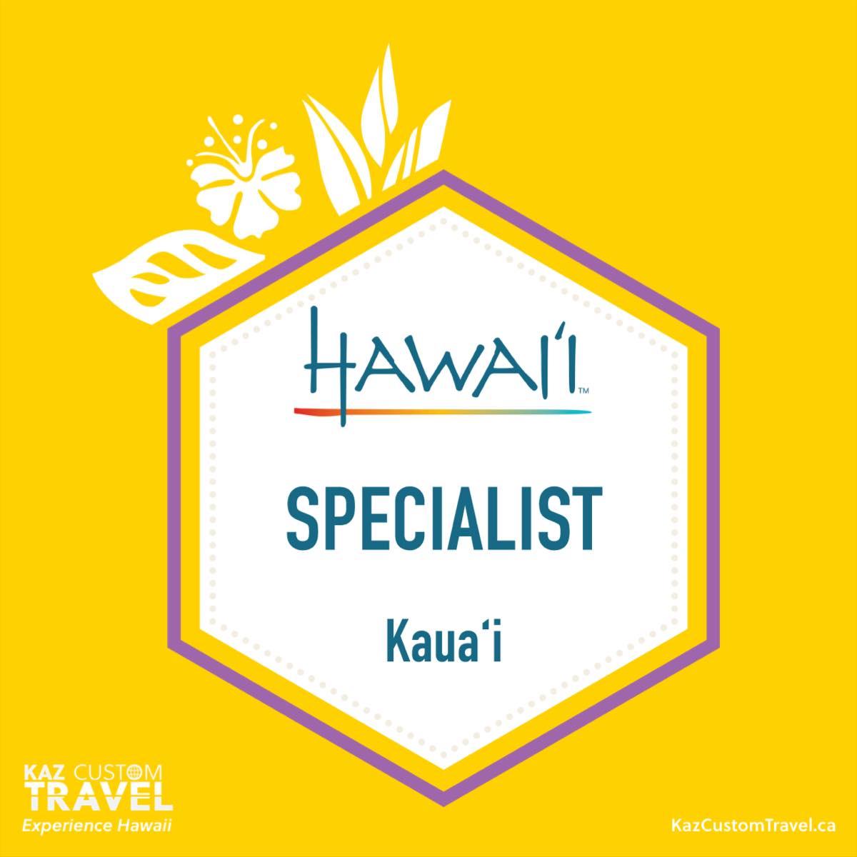 Kauai Specialist Badge