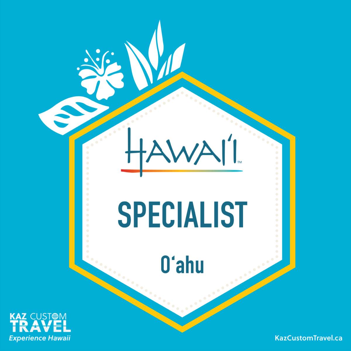 Oahu Specialist Badge