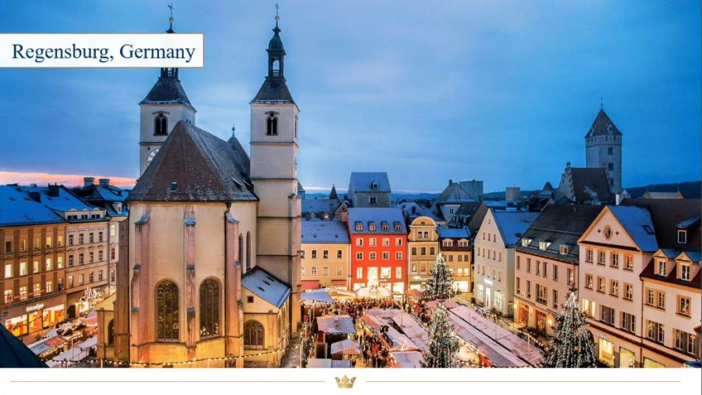 Regensburg Christmas Market, Germany