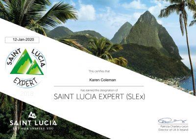 Saint Lucia Certification