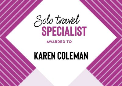 Just You Solo Travel Specialist