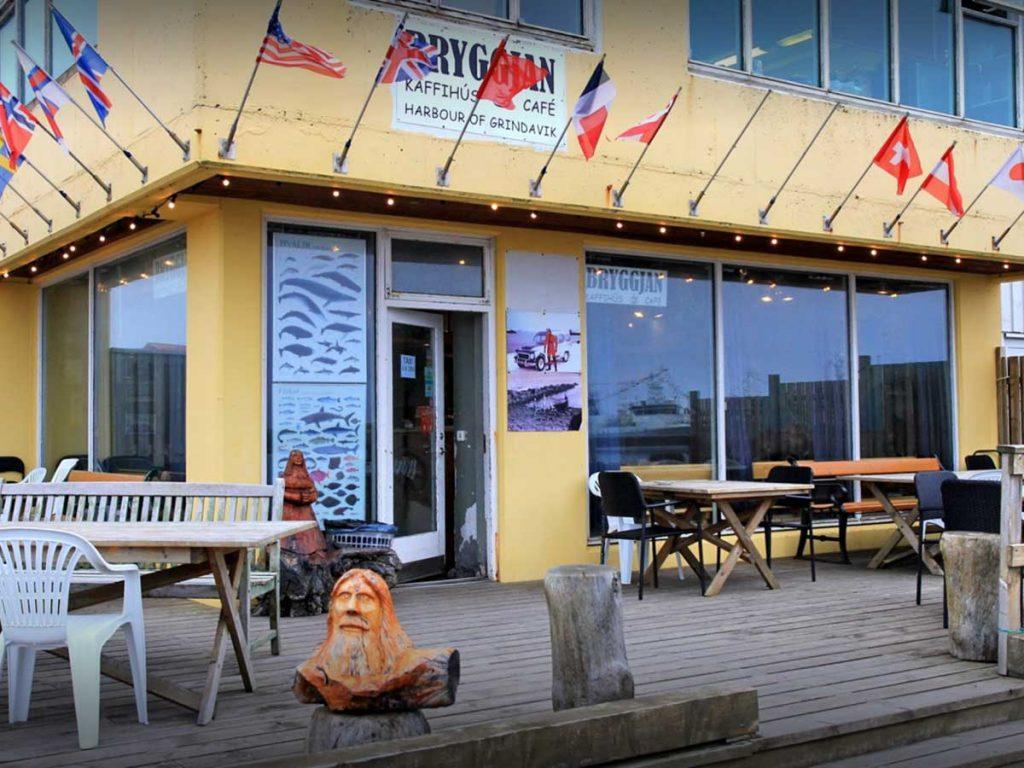 Bryggjan Cafe, Grindvik, Reykjanes Peninsula, Iceland