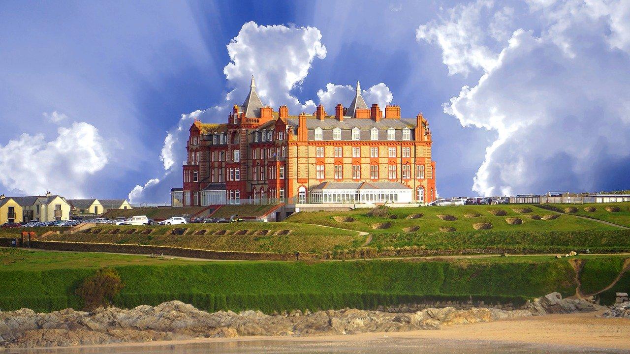 Headland Hotel, Newquay, Cornwall, England