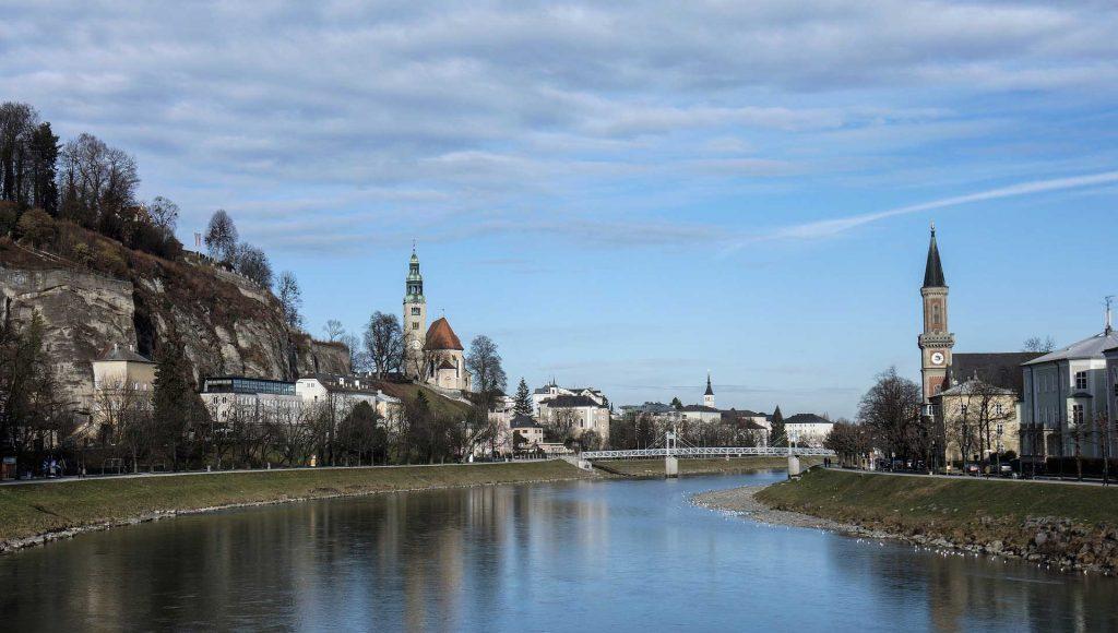 Salzach River Salzburg