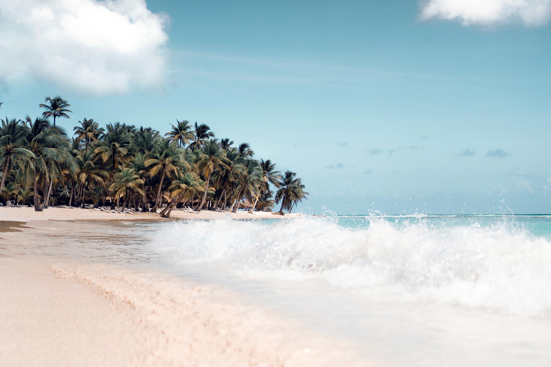 Jaco Beach on Costa Rica's Pacific coast.