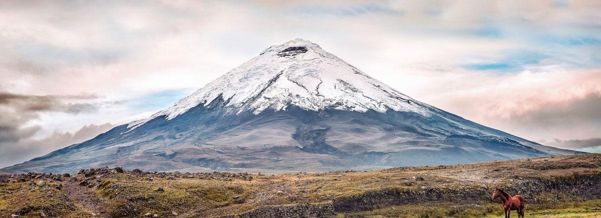 Cotopaxi, Ecuador's second highest volcano