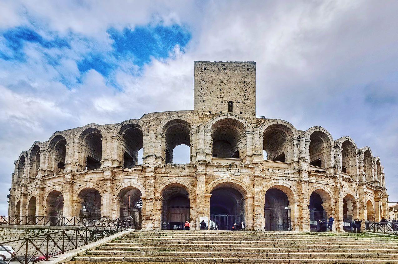 Arles colosseum, Arles, south of France