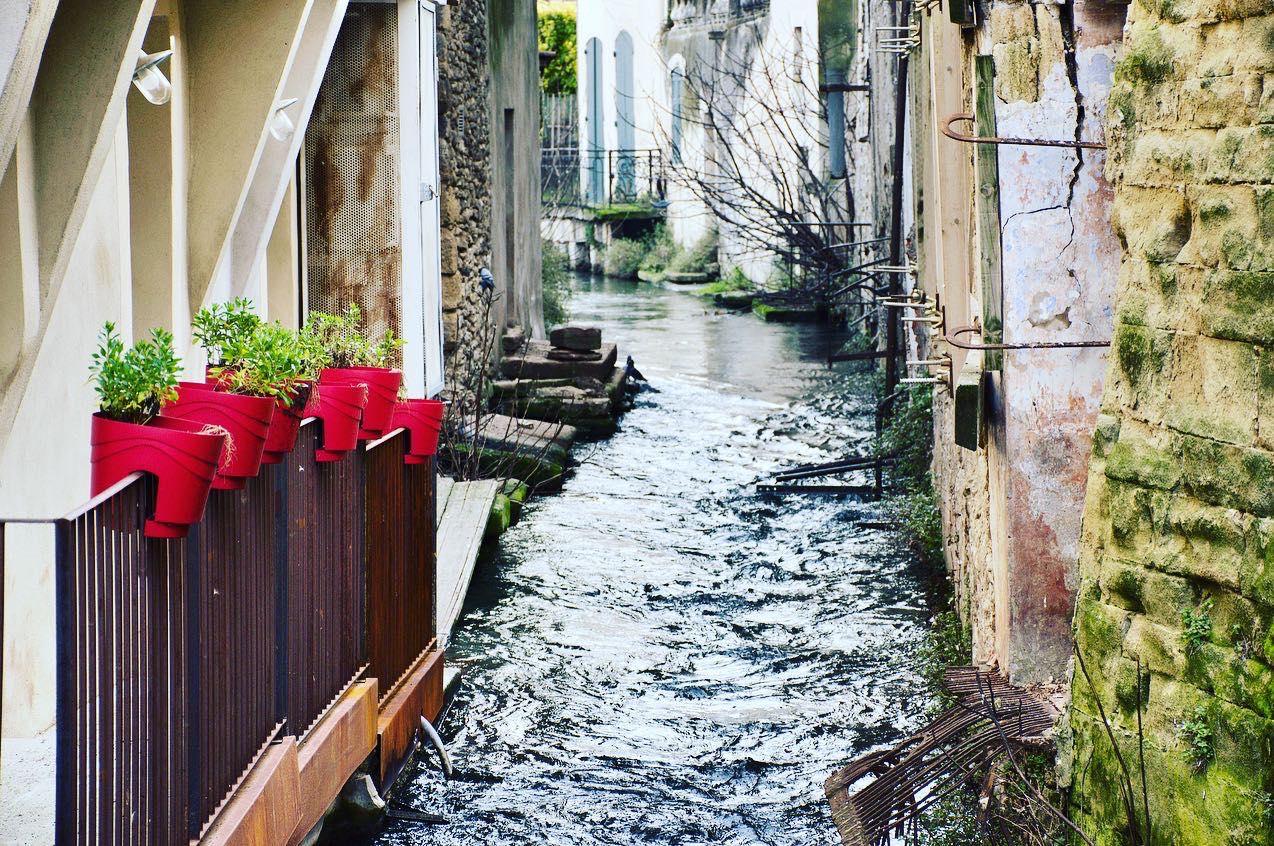 Canal in L'Isle-sur-la-Sorgue