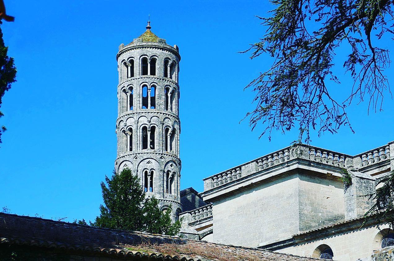 Fenestrelle Tower, Romanesque Saint-Théodorit Cathedral in Uzès