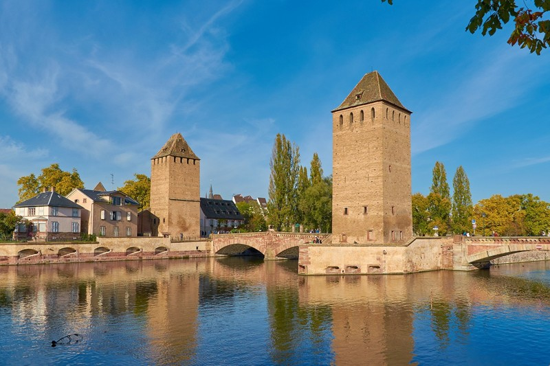Hans von Altenheim and Henry Towers in Strasbourg best seen from a River Cruise