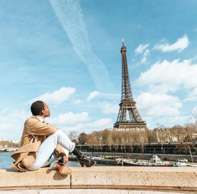 Solo Female Traveller in Paris