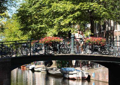 Amsterdam Bridge, Netherlands on Rhine River Cruise