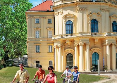 Danube River Cruise Cycling in Vienna
