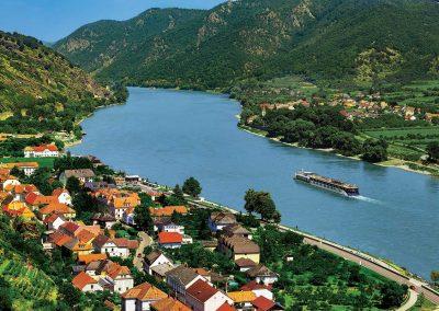 Danube River Cruise at Spitz, Austria
