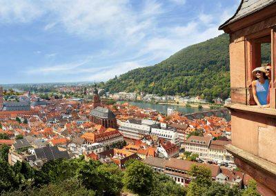 Heidelberg, Germany Rhine River Cruise