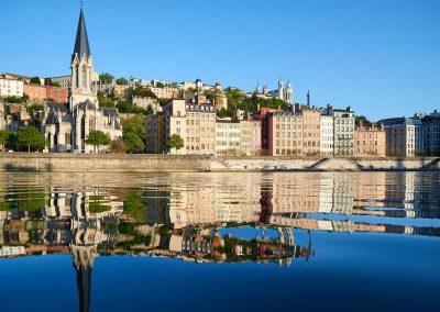 Lyon, France on Rhone River Cruise