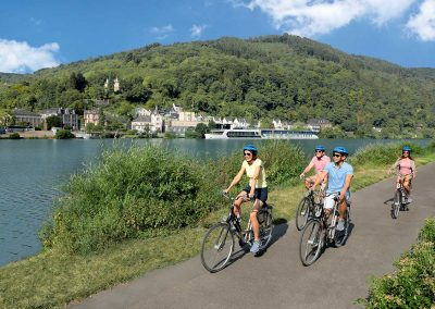 Moselle River Cycling