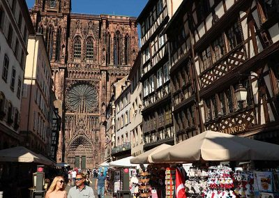 Strasbourg Cathedral on Rhine River Cruise