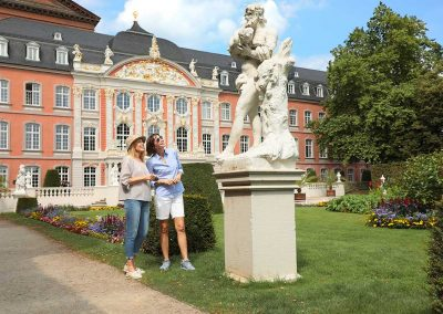 Trier Palace, Germany on Rhine River Cruise