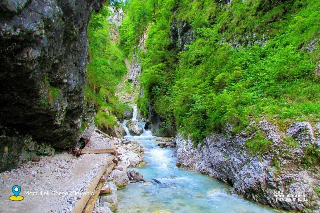 Martuljek Gorge, northern Slovenia