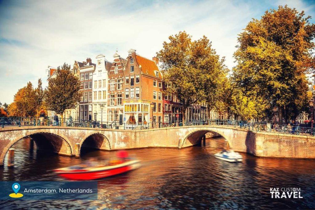 Seven River Journey Amsterdam Autumn