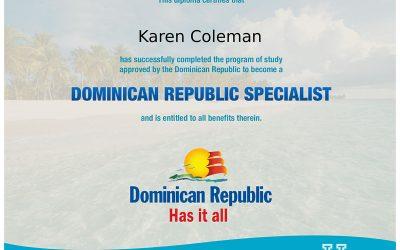 Dominican Republic Specialist Certification
