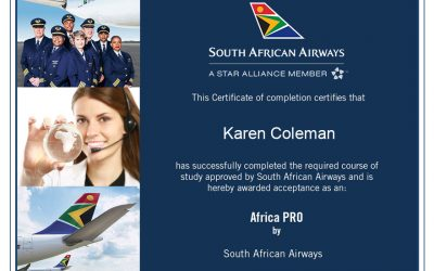 South African Airways Certification